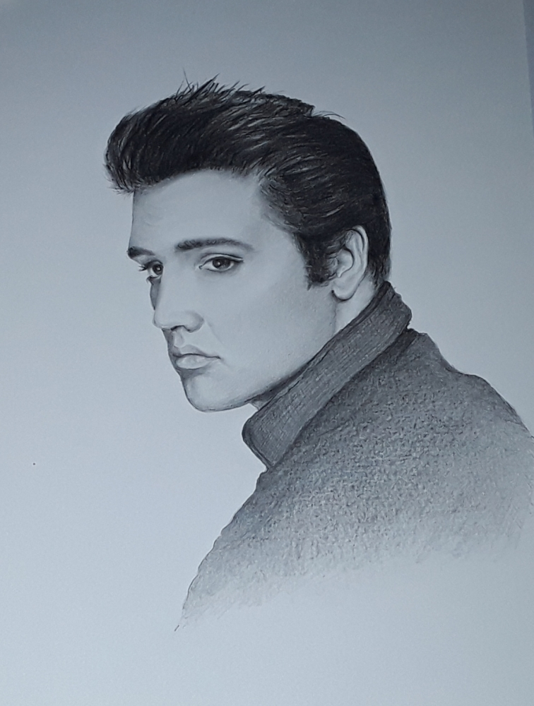 Elvis Presley by Sazz